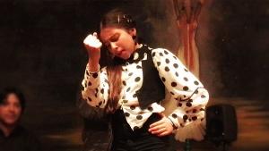 Baile Flamenco: Claudia La Debla por seguiriyas en Granada