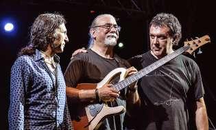Carles Benavent, Tino di Geraldo y Jorge Pardo en Alicante