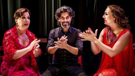 Carmen Linares, Arcángel y Marina Heredia en el Carnegie Hall de Nueva York