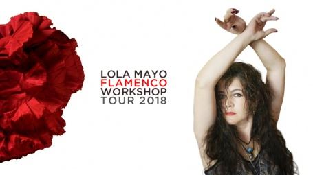 Lola Mayo Flamenco Workshop Tour 2018 California