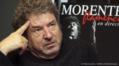 Enrique Morente con sus cosas en El Patio de Jaci González